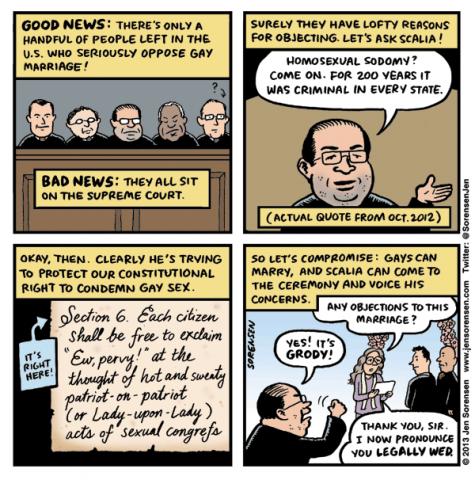poltiics justice gay marriage sad but true web comics - 8431814656