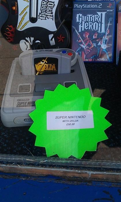 Super Nintendo ocarina of time zelda - 8431934976
