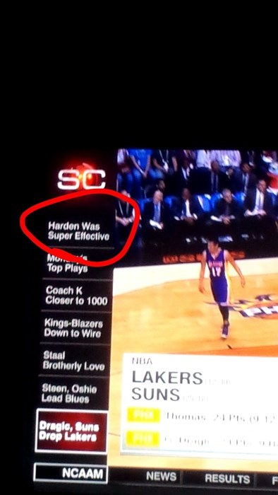 Pokémon,sports,james harden,metapod,super effective,sportscenter,basketball