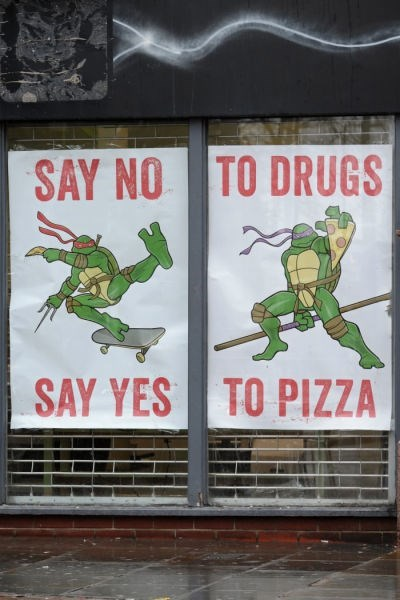TMNT pizza psa hacked irl - 8431993088