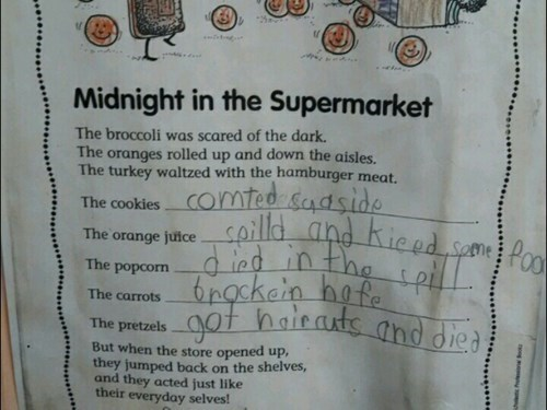 second grade,wtf,morbid,funny,g rated,School of FAIL
