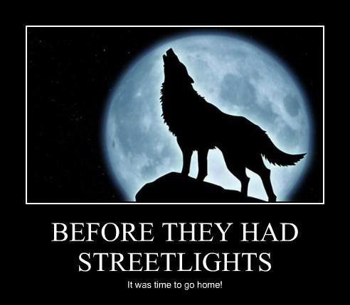BEFORE THEY HAD STREETLIGHTS