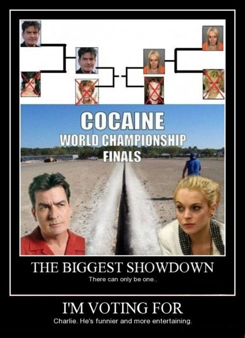 lindsay lohan,Charlie Sheen,funny