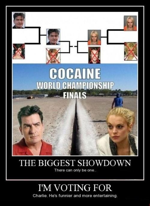 lindsay lohan Charlie Sheen funny - 8432648704