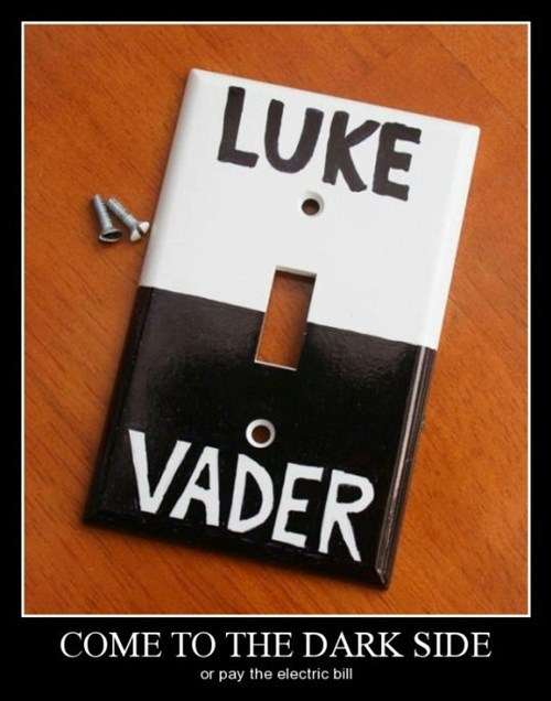 Luke,dark side,funny,darth vader