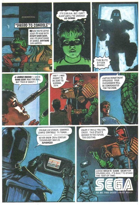 sega ads game gear judge dredd - 8432657408