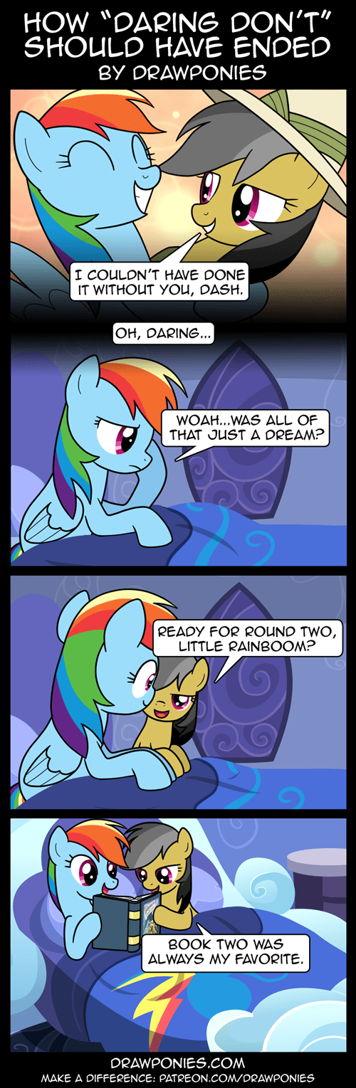 daring do rainbow dash web comics - 8432670976