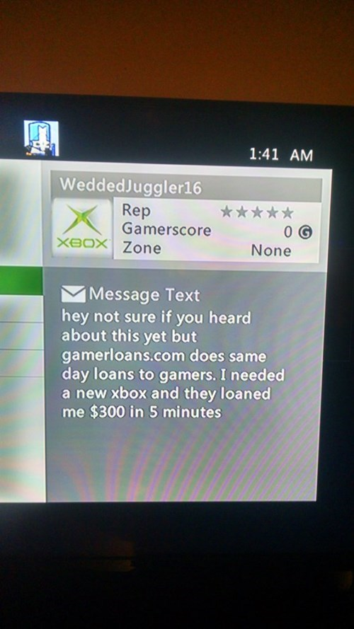 xbox live gaming gamers seems legit - 8432705280