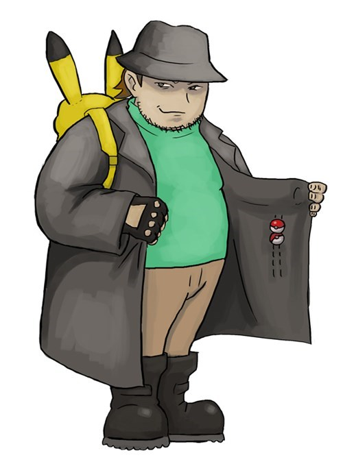 Pokémon fedora neckbeards m'lady - 8432713984