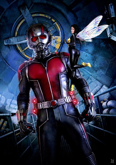 wasp poster ant man mcu - 8432731648