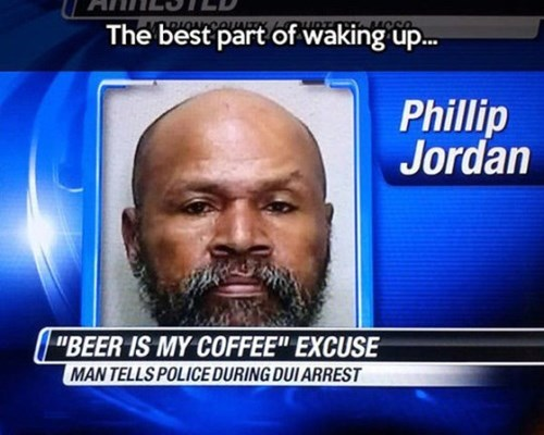 beer coffee funny waking up - 8432773120