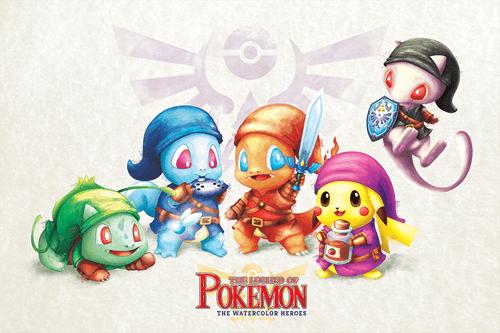 crossover Pokémon the legend of zelda gaming
