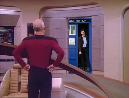 crossover TNG doctor who Star Trek - 8432803840