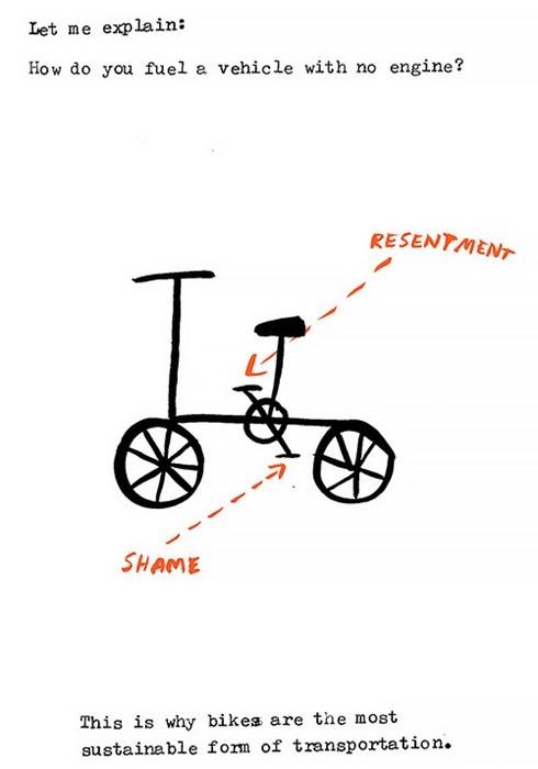 bicycles shame bikes web comics - 8432848896