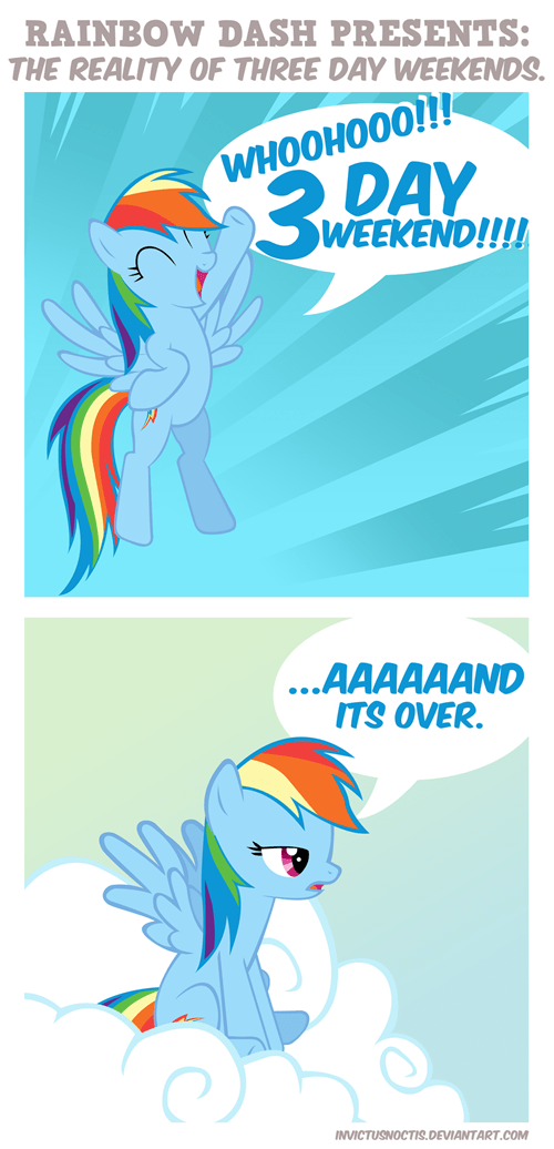 aaand-its-gone 3 Day weekend rainbow dash - 8432871168