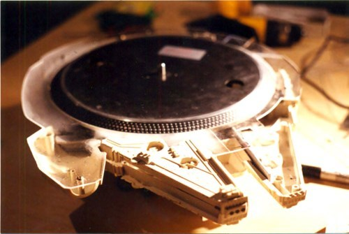 vinyl turntable record design millennium falcon g rated win