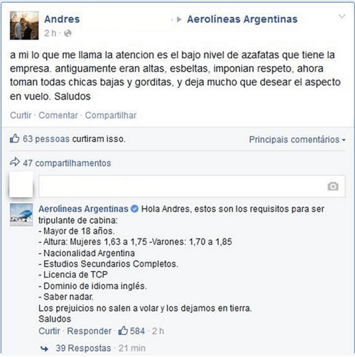 Épica respuesta argentina