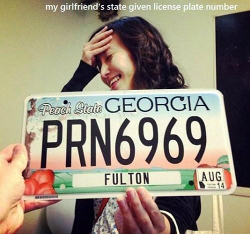 license plates - 8433369856