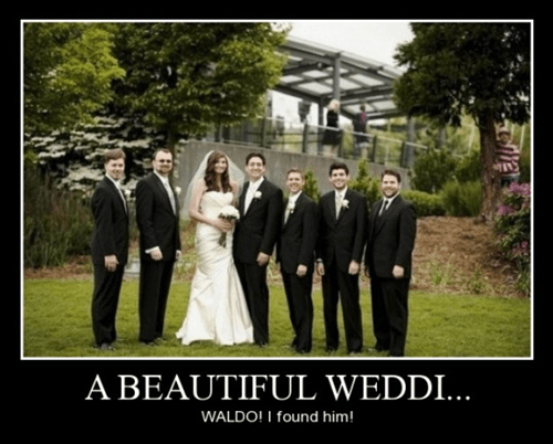wtf wedding waldo funny - 8433431808