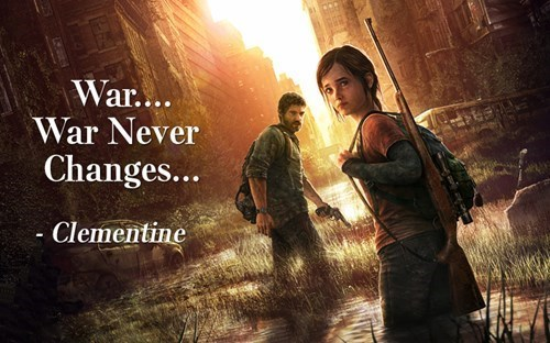 the last of us,video games,clementine,The Walking Dead