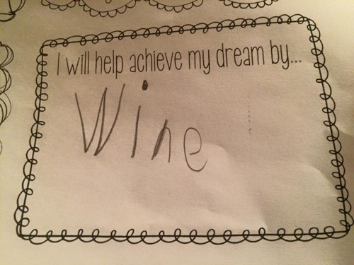 achive your goal with wine