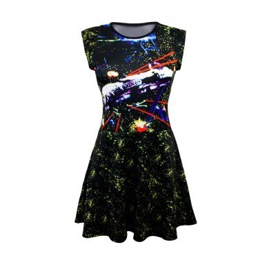 The Lady Geek in Your Life NEEDS This Death Star Battle Scene Dress