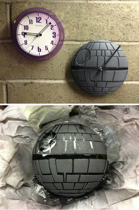 Death Star,DIY,clock