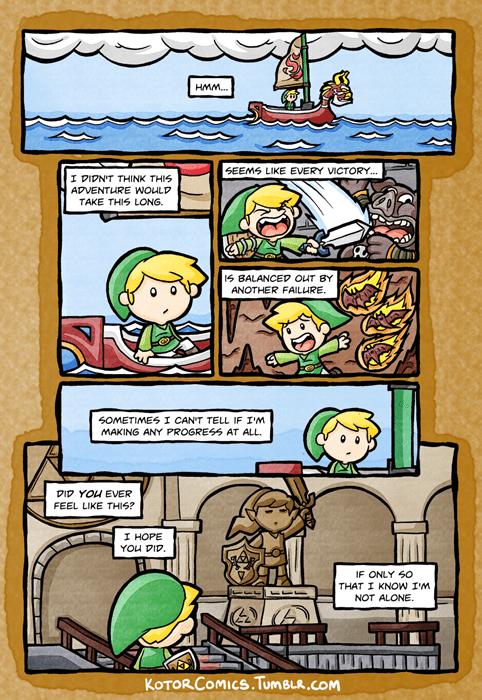 the legend of zelda video games web comics - 8433605376