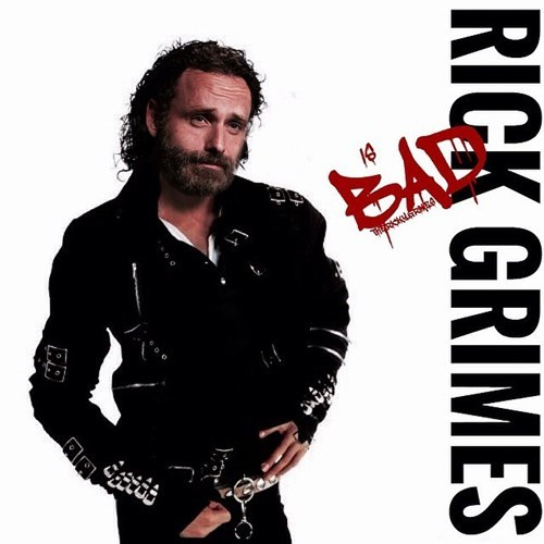 Rick Grimes michael jackson The Walking Dead - 8433622016