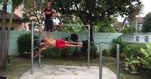 gymnastics BAMF world record
