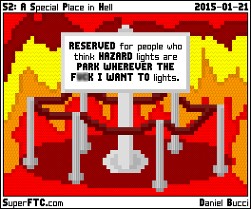 hell,parking,web comics