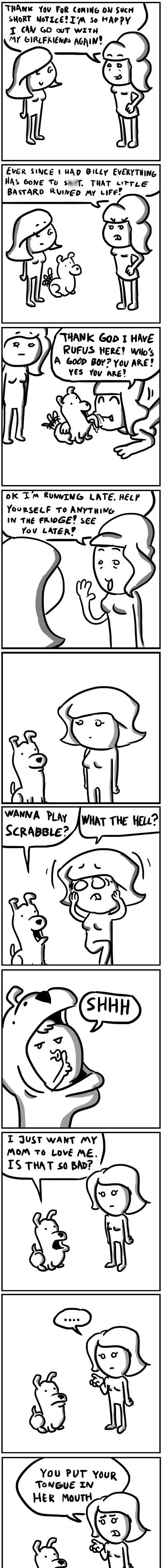 dogs kids gross web comics - 8433792512