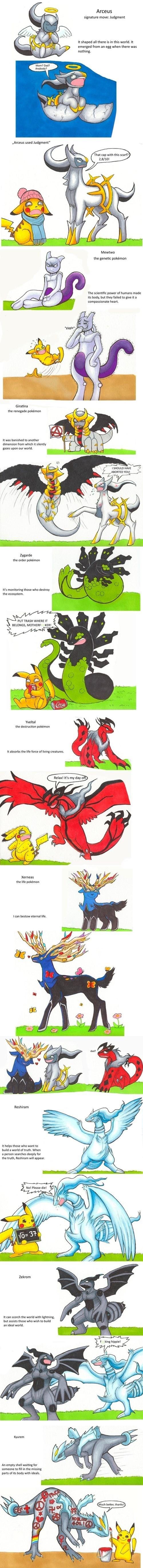 Pokémon legendaries arcues - 8434342400