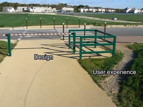 monday thru friday user experience design analogy g rated - 8434411264