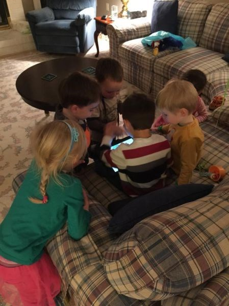 sharing kids technology parenting - 8434428160