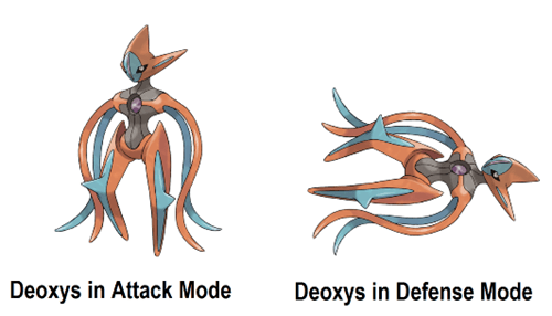 deoxys Pokémon Yu-Gi-Oh! Yu-Gi-Oh! - 8434471680