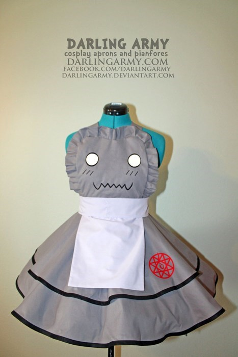 cosplay anime fullmetal alchemist pinafore - 8434506496