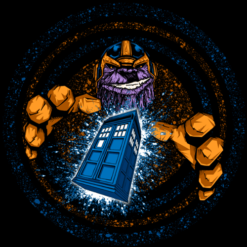 tardis,thanos,time gem