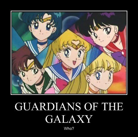 anime guardians of the galaxy sailor moon - 8434645504