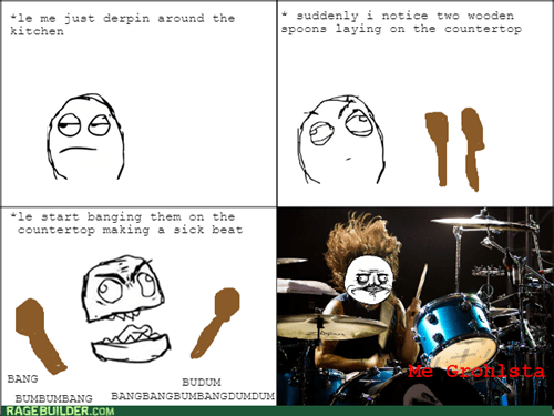 Dave Grohl me gusta drumming - 8435186176