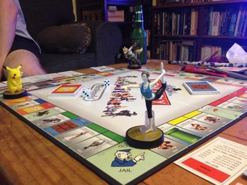 monopoly,amiibo