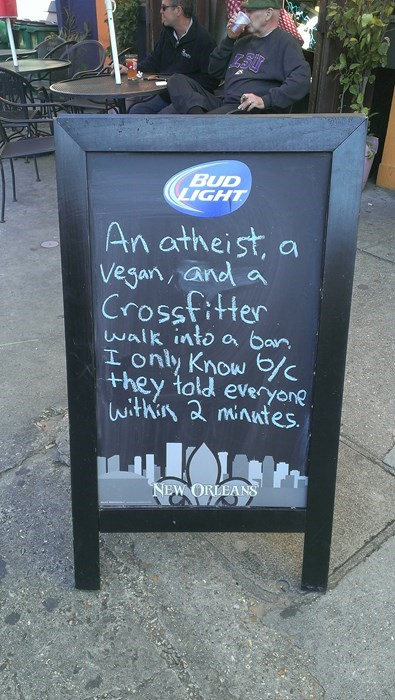 a classic walks into a bar joke