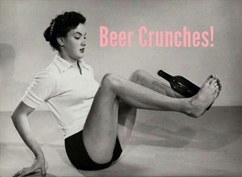 beer wtf abs exercise funny crunches - 8435276800