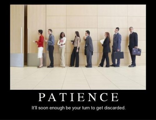 depressing patience funny
