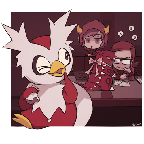 gifts,delibird,present