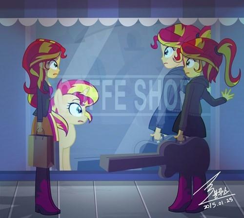 equestria girls meeting multiverse sunset shimmer - 8435608832