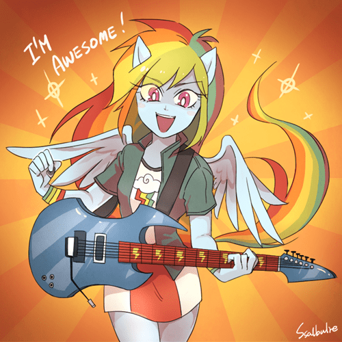 Fan Art awesome rainbow dash - 8435609600