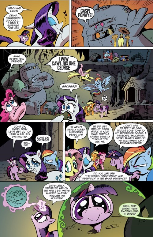 comics MLP trolls - 8435635456