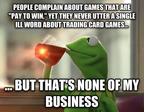 gaming Memes trading card games - 8435705856