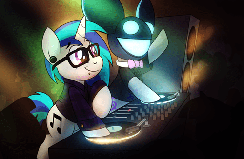 deadmaus vinyl scratch - 8435783168